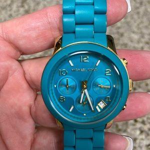 Michael Kors Teal watch